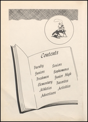 Page 8, 1953 Edition, Megargel High School - Mustang Yearbook (Megargel, TX) online yearbook collection