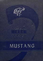 1954 Edition, Megargel High School - Mustang Yearbook (Megargel, TX)