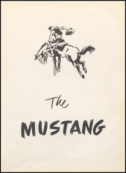 Page 5, 1954 Edition, Megargel High School - Mustang Yearbook (Megargel, TX) online yearbook collection