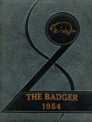1954 Edition, Buckholts High School - Badger Yearbook (Buckholts, TX)