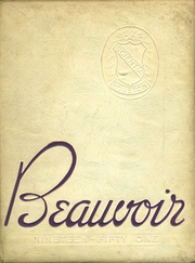 1951 Edition, Jefferson Davis High School - Beauvoir Yearbook (Houston, TX)
