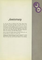 Page 11, 1951 Edition, Jefferson Davis High School - Beauvoir Yearbook (Houston, TX) online yearbook collection