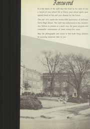 Page 9, 1951 Edition, Jefferson Davis High School - Beauvoir Yearbook (Houston, TX) online yearbook collection