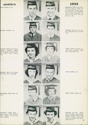 Page 17, 1954 Edition, Jefferson Davis High School - Beauvoir Yearbook (Houston, TX) online yearbook collection