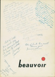 Page 5, 1954 Edition, Jefferson Davis High School - Beauvoir Yearbook (Houston, TX) online yearbook collection