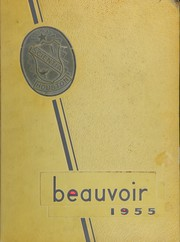 1955 Edition, Jefferson Davis High School - Beauvoir Yearbook (Houston, TX)