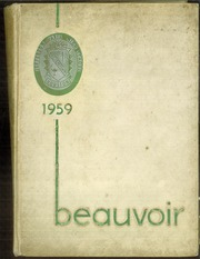 Page 1, 1959 Edition, Jefferson Davis High School - Beauvoir Yearbook (Houston, TX) online yearbook collection