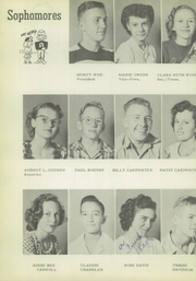 Page 16, 1950 Edition, Quitaque High School - Panthers Den Yearbook (Quitaque, TX) online yearbook collection