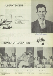 Page 7, 1950 Edition, Quitaque High School - Panthers Den Yearbook (Quitaque, TX) online yearbook collection