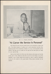 Page 15, 1956 Edition, Carver High School - Hornet Yearbook (Midland, TX) online yearbook collection