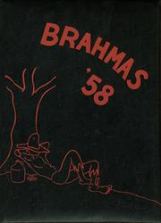 1958 Edition, North East High School - Brahma Yearbook (San Antonio, TX)
