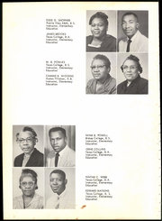 Page 14, 1961 Edition, Burnett High School - Tiger Yearbook (Terrell, TX) online yearbook collection
