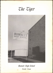 Page 7, 1961 Edition, Burnett High School - Tiger Yearbook (Terrell, TX) online yearbook collection