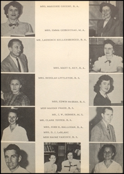 Page 12, 1949 Edition, Webster High School - Web Yearbook (Webster, TX) online yearbook collection