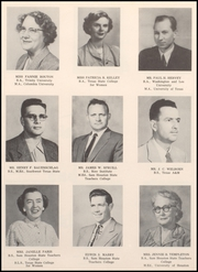 Page 10, 1956 Edition, Webster High School - Web Yearbook (Webster, TX) online yearbook collection