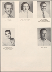 Page 11, 1956 Edition, Webster High School - Web Yearbook (Webster, TX) online yearbook collection