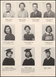 Page 14, 1956 Edition, Webster High School - Web Yearbook (Webster, TX) online yearbook collection