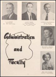 Page 8, 1956 Edition, Webster High School - Web Yearbook (Webster, TX) online yearbook collection