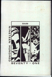 1971 Edition, Talpa Centennial High School - Ram Yearbook (Talpa, TX)