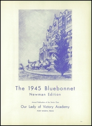 Page 5, 1945 Edition, Our Lady of Victory High School - Lepanto Yearbook (Fort Worth, TX) online yearbook collection