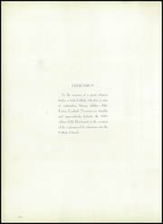 Page 6, 1945 Edition, Our Lady of Victory High School - Lepanto Yearbook (Fort Worth, TX) online yearbook collection