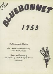 Page 5, 1953 Edition, Our Lady of Victory High School - Lepanto Yearbook (Fort Worth, TX) online yearbook collection