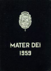 Page 1, 1959 Edition, St Marys High School - Mater Dei Yearbook (Orange, TX) online yearbook collection
