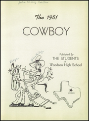 Page 7, 1951 Edition, Woodson High School - Cowboy Yearbook (Woodson, TX) online yearbook collection