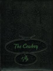 Page 1, 1953 Edition, Woodson High School - Cowboy Yearbook (Woodson, TX) online yearbook collection