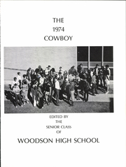 Page 5, 1974 Edition, Woodson High School - Cowboy Yearbook (Woodson, TX) online yearbook collection