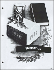 Page 7, 1947 Edition, Coles High School - Hornet Nest Yearbook (Corpus Christi, TX) online yearbook collection
