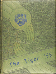 1955 Edition, East Mountain High School - Tiger Yearbook (Longview, TX)