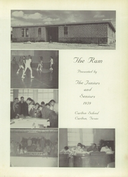 Page 5, 1959 Edition, Carlton High School - Ram Yearbook (Carlton, TX) online yearbook collection