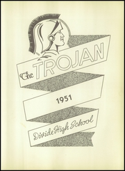 Page 7, 1951 Edition, Divide High School - Trojan Yearbook (Nolan, TX) online yearbook collection