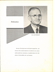 Page 7, 1956 Edition, Deport High School - Acorn Yearbook (Deport, TX) online yearbook collection