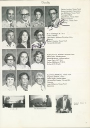 Page 9, 1980 Edition, McAdoo High School - Eagles Nest Yearbook (McAdoo, TX) online yearbook collection