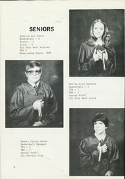 Page 12, 1982 Edition, McAdoo High School - Eagles Nest Yearbook (McAdoo, TX) online yearbook collection