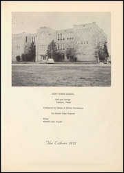 Page 5, 1957 Edition, St Josephs High School - Echoes Yearbook (Yoakum, TX) online yearbook collection