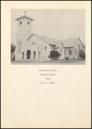 Page 6, 1957 Edition, St Josephs High School - Echoes Yearbook (Yoakum, TX) online yearbook collection