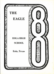 Page 5, 1980 Edition, Eola High School - Eagle Yearbook (Eola, TX) online yearbook collection