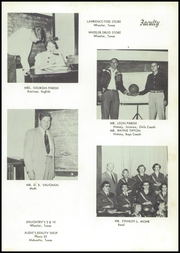 Page 15, 1956 Edition, Briscoe High School - Bronco Yearbook (Briscoe, TX) online yearbook collection
