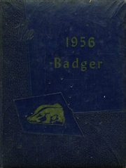 Page 1, 1956 Edition, Orchard High School - Badger Yearbook (Orchard, TX) online yearbook collection