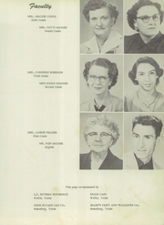 Page 13, 1956 Edition, Orchard High School - Badger Yearbook (Orchard, TX) online yearbook collection
