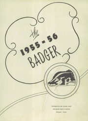 Page 5, 1956 Edition, Orchard High School - Badger Yearbook (Orchard, TX) online yearbook collection