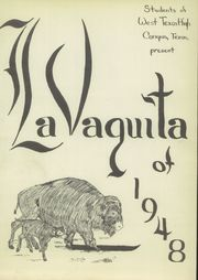 Page 5, 1948 Edition, West Texas High School - La Vaquita Yearbook (Canyon, TX) online yearbook collection