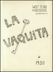 Page 5, 1950 Edition, West Texas High School - La Vaquita Yearbook (Canyon, TX) online yearbook collection