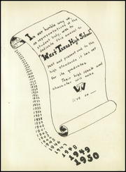 Page 7, 1950 Edition, West Texas High School - La Vaquita Yearbook (Canyon, TX) online yearbook collection