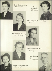 Page 9, 1950 Edition, West Texas High School - La Vaquita Yearbook (Canyon, TX) online yearbook collection
