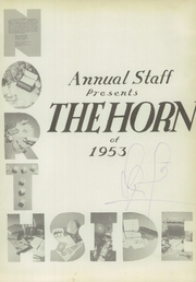Page 5, 1953 Edition, Northside High School - Horn Yearbook (San Antonio, TX) online yearbook collection