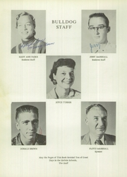 Page 6, 1956 Edition, Melvin High School - Bulldog Yearbook (Melvin, TX) online yearbook collection